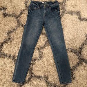 LOFT skinny jeans, size 0 / 25
